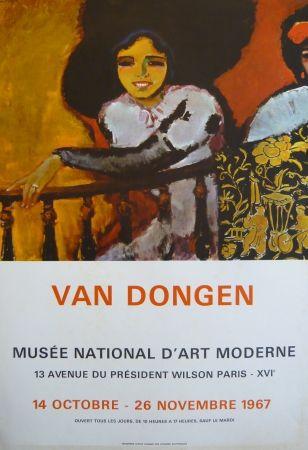 Афиша Van Dongen - Affiche exposition Musée d'art moderne