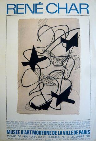 Афиша Braque - Affiche exposition René Char