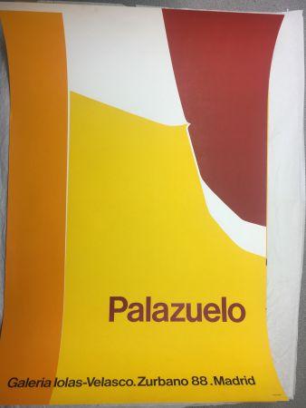 Афиша Palazuelo - Affiche lithographique originale de la Galeria Iolas-Velasco, Madrid. Maeght 1963.