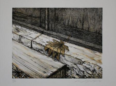 Литография Siegert - Ahornblatt / Maple Leaf