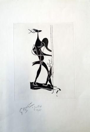 Офорт И Аквитанта Braque - Ajax
