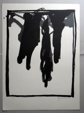 Литография Hernandez Pijuan - A.L. Barcelona-III