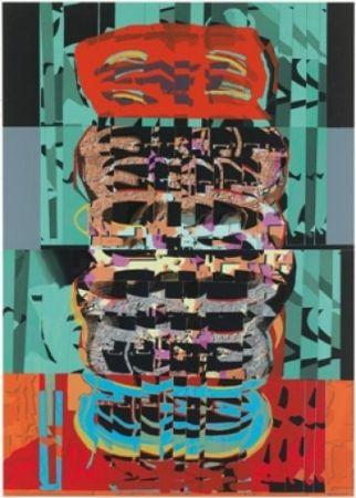 Литография Gordillo - A.L. Galeria Joan Prats