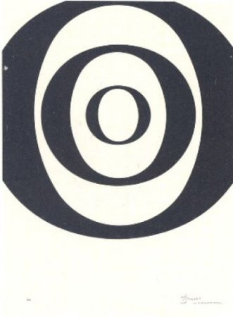Литография Brossa - A.L. Joan Prats