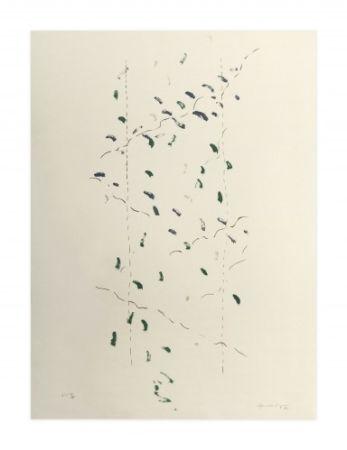 Литография Hernandez Pijuan - A.L. Osaka (avant-la-lettre Osaka)