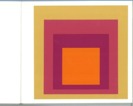 Сериграфия Albers - Albers - Homages to the Suare als Wechselwirkung der Farbe