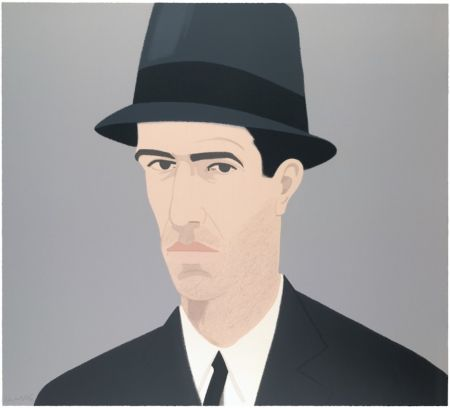 Сериграфия Katz - Alex Katz Passing Self Portrait (Alex and Ada Suite)