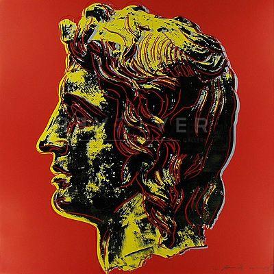 Сериграфия Warhol - Alexander The Great (Fs Ii.292)
