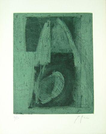 Литография Greco - Alterego considera lo spazio