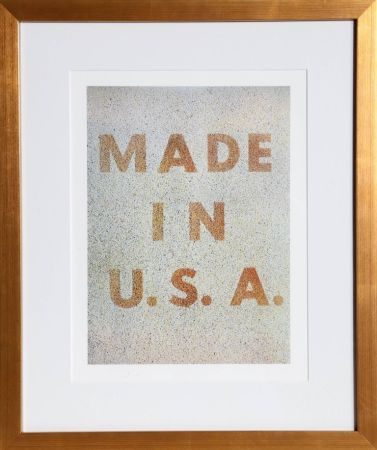 Гашение Ruscha - America: Her Best Product (Made In Usa) From The Kent Bicentennial Portfolio