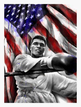 Многоэкземплярное Произведение Mr Brainwash - American Hero (Ali)