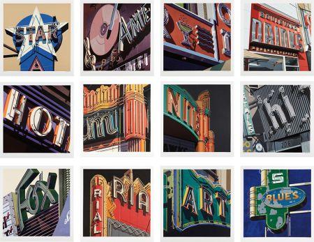 Сериграфия Cottingham - American Signs Portfolio