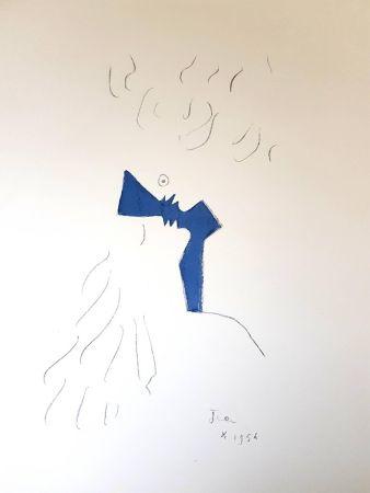 Литография Cocteau - Amoureux