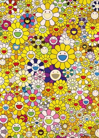 Литография Murakami - An Homage To Monogold