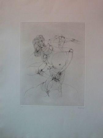 Гравюра Bellmer -  Anatomie De L'image