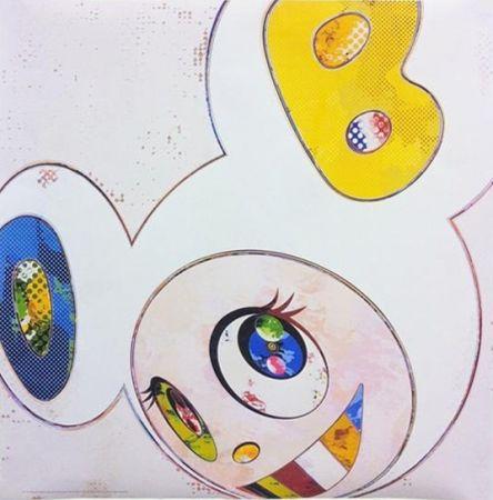 Многоэкземплярное Произведение Murakami - And Then x 6 - White with Blue and Yellow ears