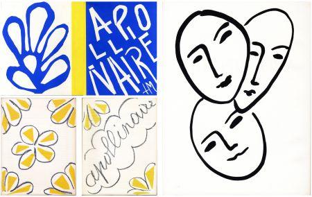 Иллюстрированная Книга Matisse - André Rouveyre : APOLLINAIRE. 7 lithographies et 1 gravure originales (1952)..