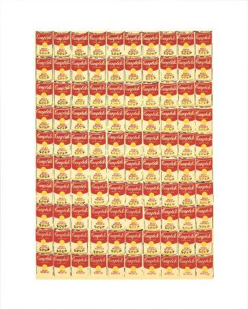 Сериграфия Warhol - Andy Warhol '100 Cans' 1991 Original Pop Art Poster