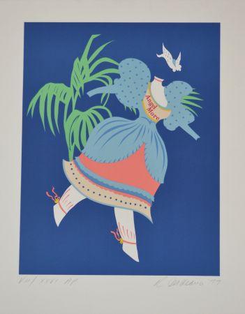 Литография Indiana - Angel More - Mother of us all portfolio