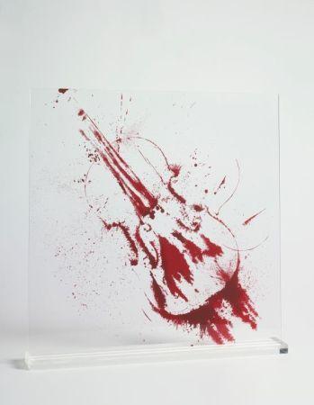 Сериграфия Arman - Angry violin
