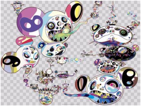 Многоэкземплярное Произведение Murakami - Another Dimension Brushing Against Your Hand,