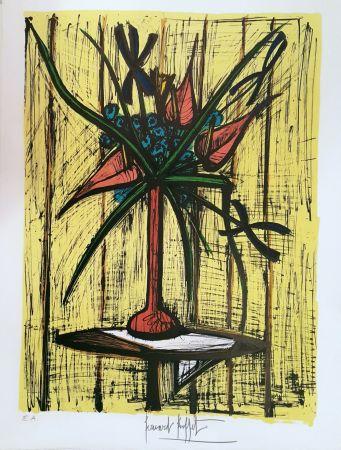 Литография Buffet - Anthuriums Et Iris
