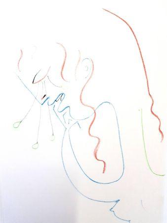 Литография Cocteau - Antigone