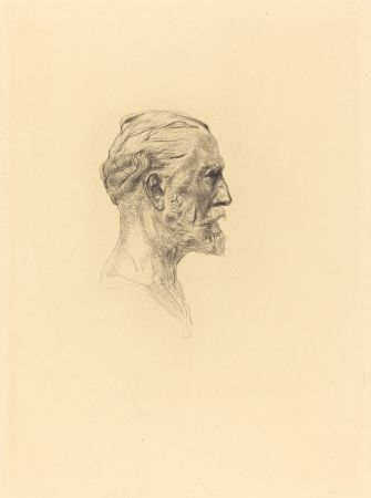 Гравюра Сухой Иглой Rodin -