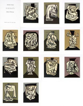 Нет Никаких Технических Saura - Antonio Saura/Portrait/Marcel Moreau/Edtions Atelier Clot