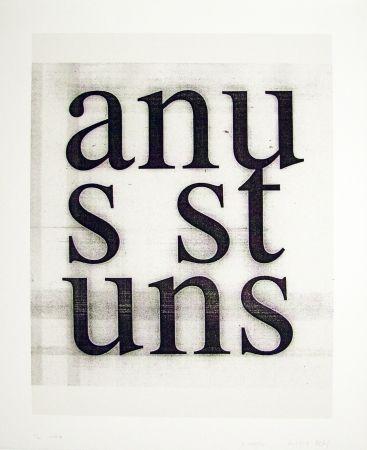 Сериграфия Wool - Anus Stuns