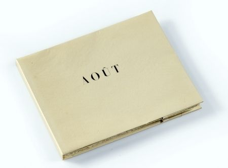 Иллюстрированная Книга Braque - Aout