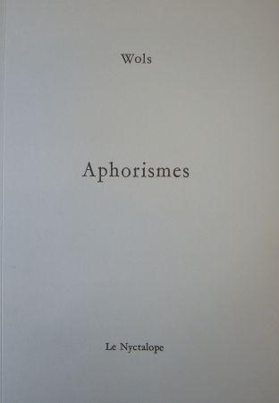 Иллюстрированная Книга Wols - Aphorismes