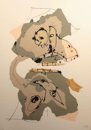 Сериграфия Saura - Aphorismos de Lichteberg