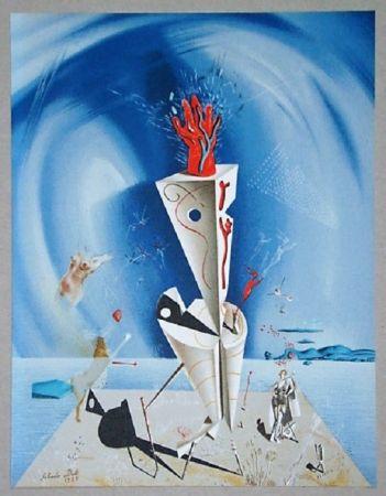 Литография Dali - Appareil et main