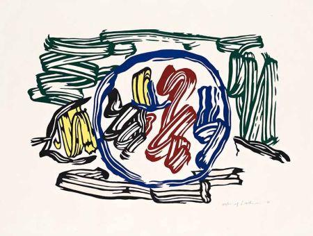 Гравюра На Дереве Lichtenstein - Apple and Lemon