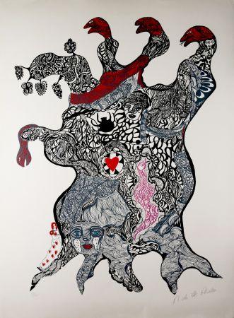 Сериграфия De Saint Phalle - Arbre aux Serpents