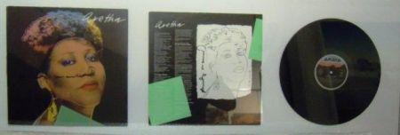 Многоэкземплярное Произведение Warhol - Aretha Franklin. Aretha