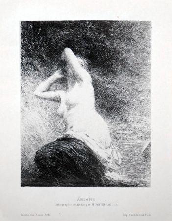 Литография Fantin-Latour - Ariane