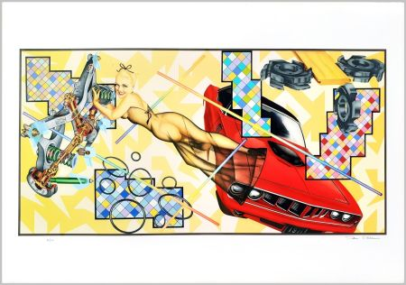 Сериграфия Phillips - Art-O-Matic Cudacutie
