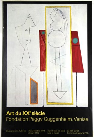 Гашение Picasso - Art Du Xxe Siecle  Fondation Peggy Guggenheim