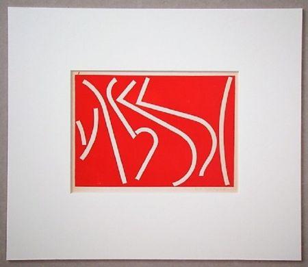 Сериграфия Colla - Arte non-figurativa 1953