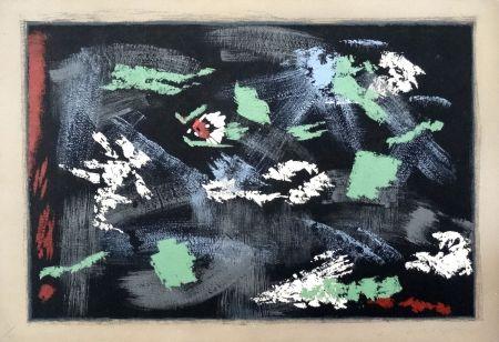 Литография Masson - Arthur Rimbaud : Une saison en Enfer