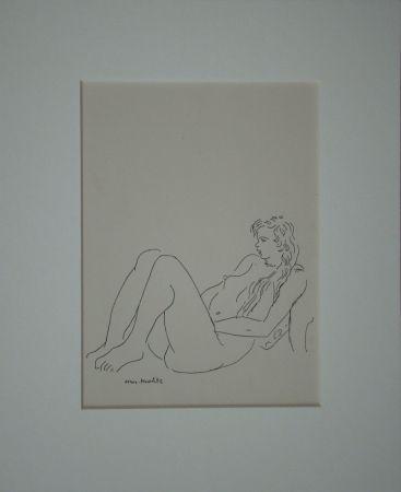 Литография Matisse - Assis nu