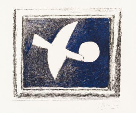 Литография Braque - Astre Et Oiseau (Star And Bird) I, 1958-59