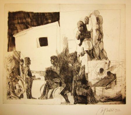 Гравюра Hrdlicka - Atelier