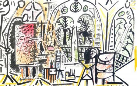 Литография Picasso - Atelier