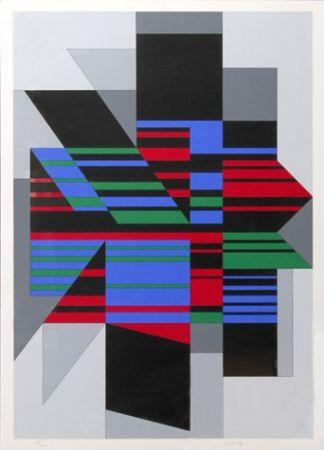Сериграфия Vasarely - Attila