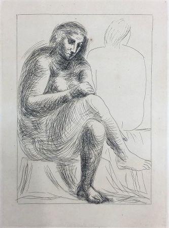 Офорт Picasso - Au bain