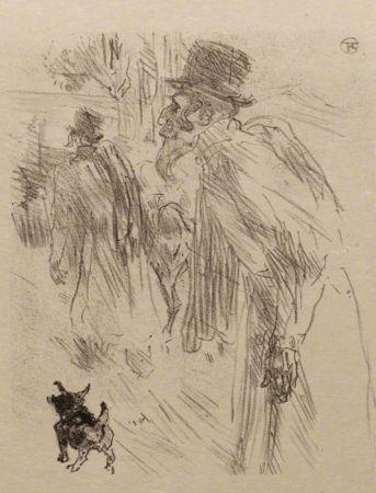 Иллюстрированная Книга Toulouse-Lautrec - Au pied du Sinaï