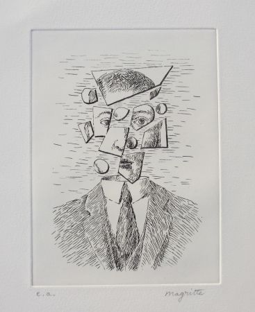 Офорт Magritte - Aube à l'Antipode